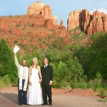 sedona wedding minister Sedona Elopement Weddings team
